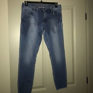 Articles Society Jeans with frayed hem